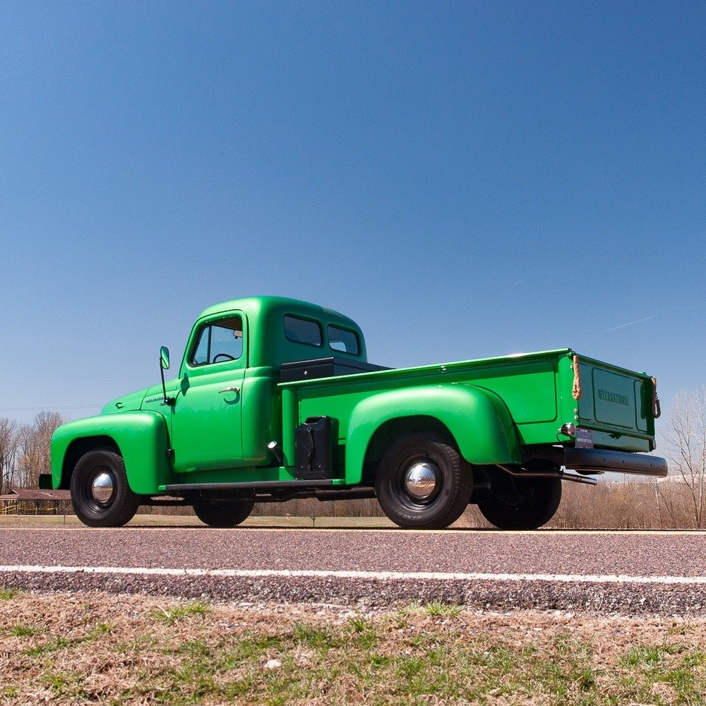 1953 International-Harvester R-112 ½-ton Pickup = Restored  For Sale (picture 3 of 6)