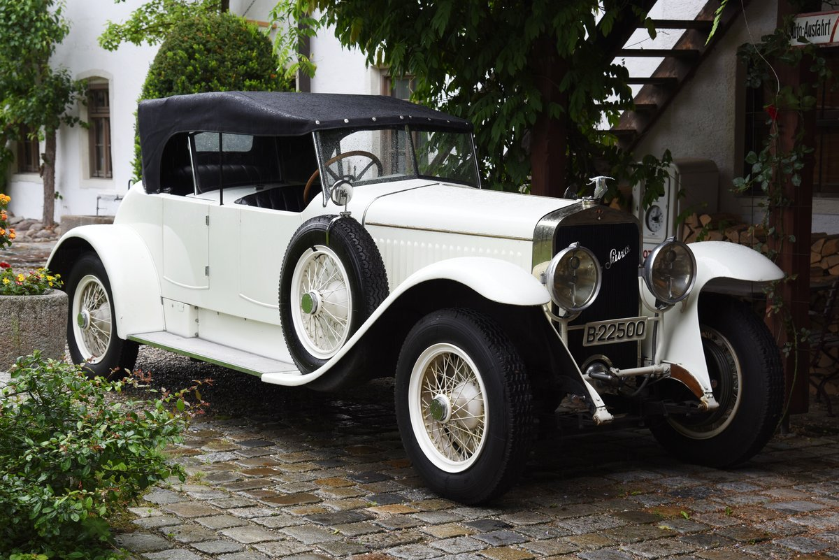 Hispano Suiza H6B Dual Cowl Phaeton For Sale (picture 1 of 6)
