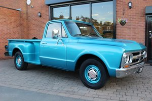 1967 GMC 1500 Stepside 350 V8 Floor-shift manual For Sale