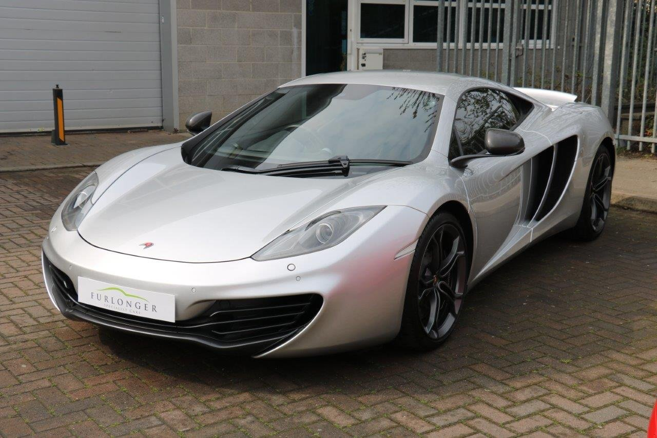 2011 McLaren 12 C - Special Order Supernova Silver Metallic Paint For Sale (picture 1 of 6)
