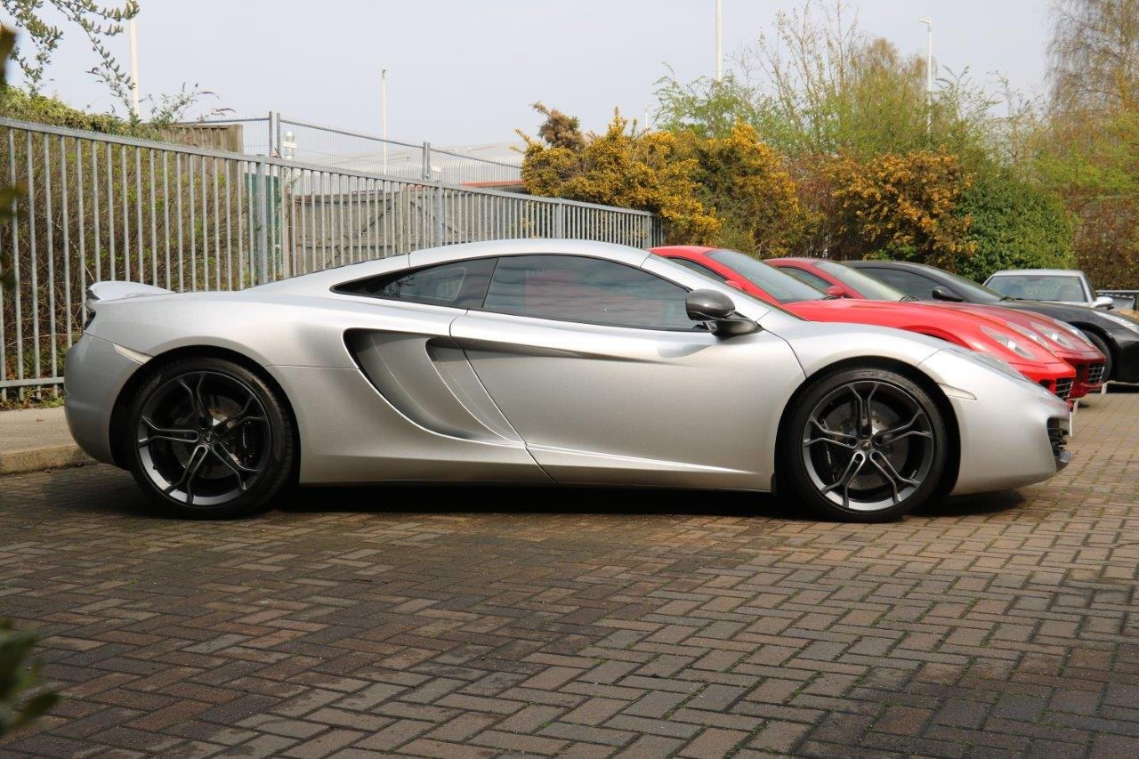 2011 McLaren 12 C - Special Order Supernova Silver Metallic Paint For Sale (picture 3 of 6)