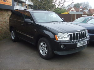 2006 Jeep Cherokee 3.0 CRD V6 Limited Auto