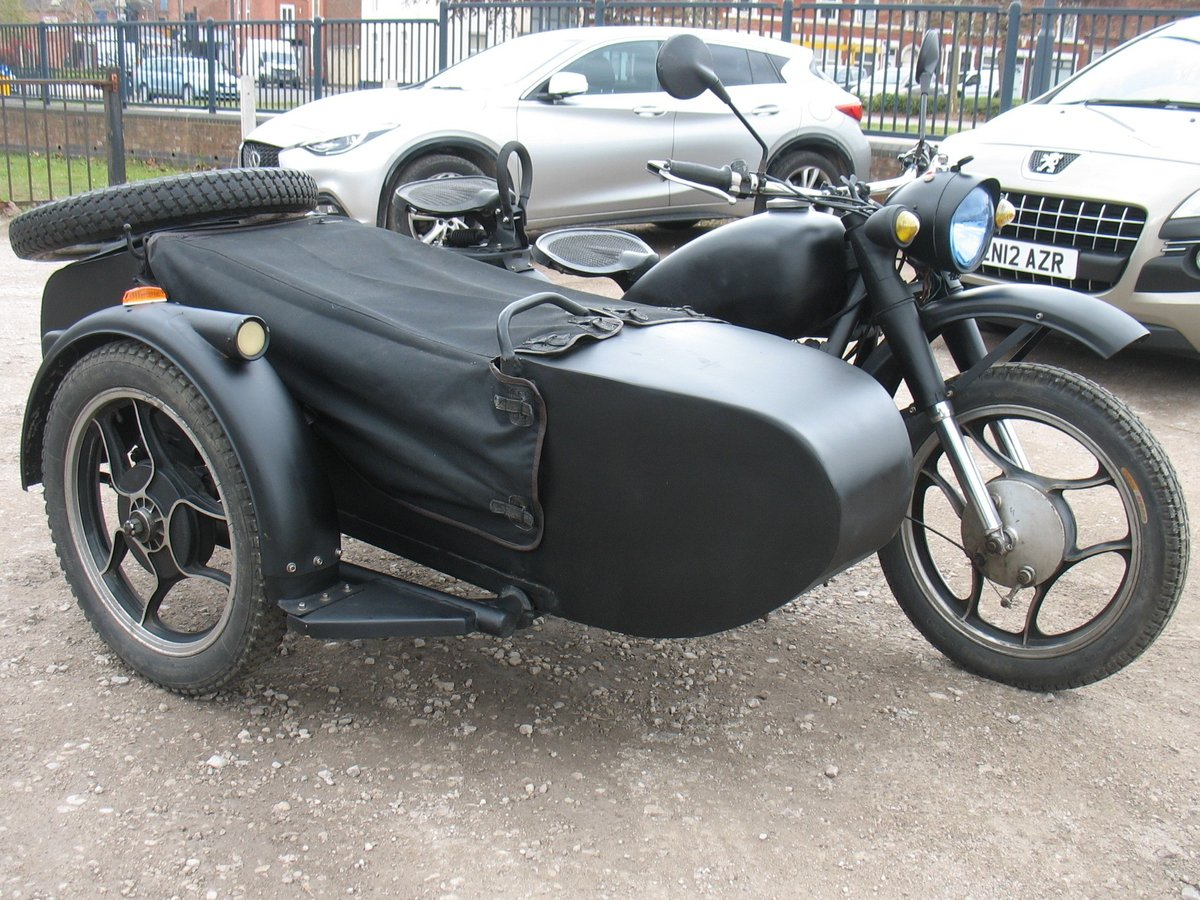 1985 Chang Jiang sidecar outfit For Sale (picture 2 of 3)