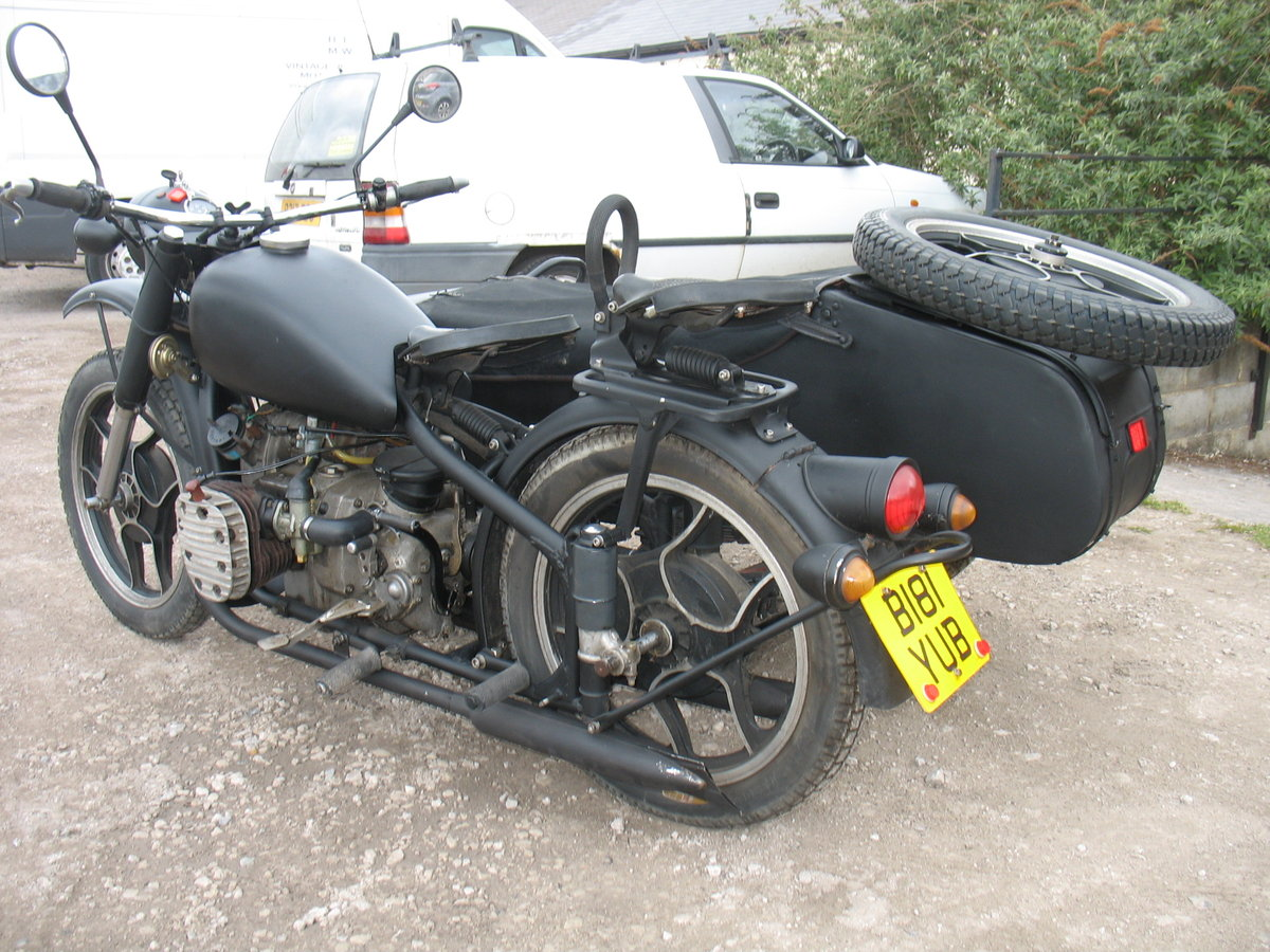 1985 Chang Jiang sidecar outfit For Sale (picture 3 of 3)