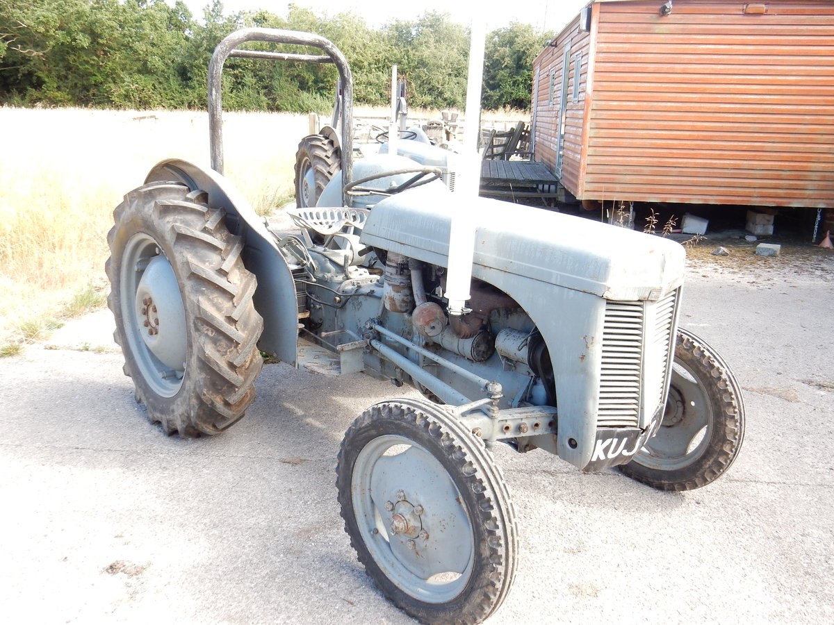 MASSEY FERGUSON GREY FERGIE 2092cc 4 CYLINDER DIESEL 1953 RE For Sale (picture 3 of 3)