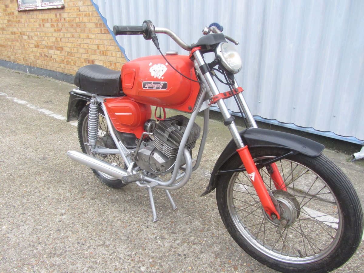 MALAGUTI 50cc 1970s ORIGINAL CONDITION MOPED For Sale (picture 1 of 6)