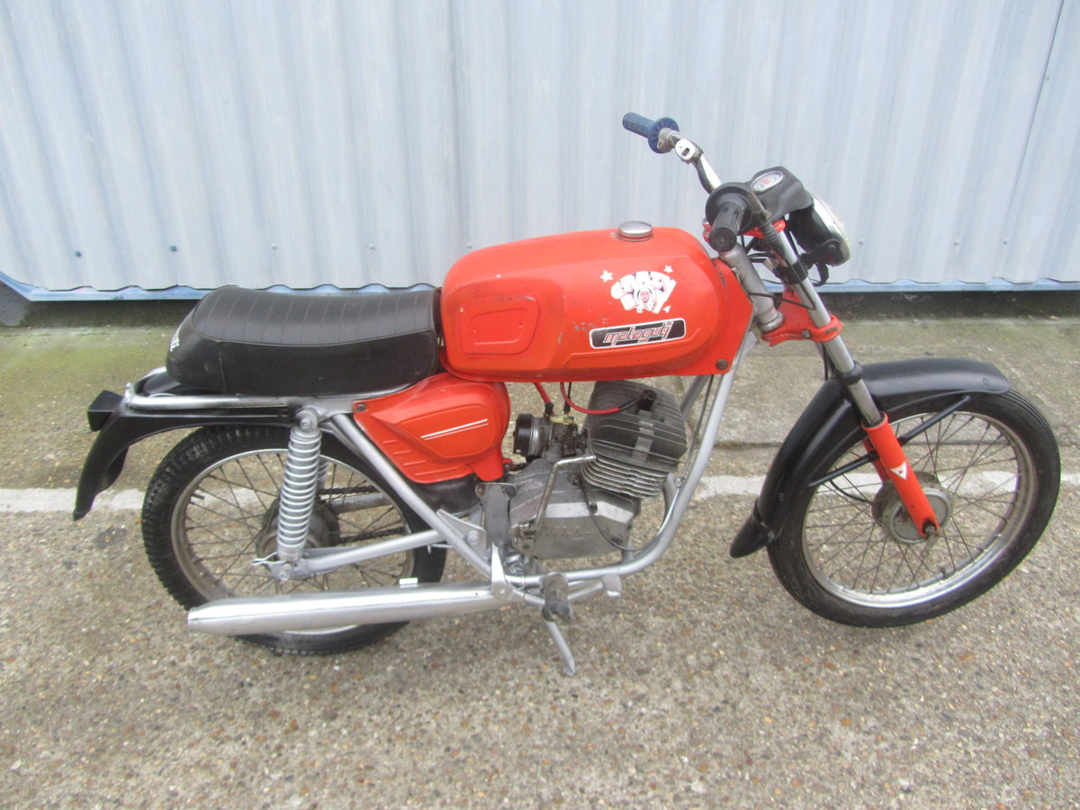 MALAGUTI 50cc 1970s ORIGINAL CONDITION MOPED For Sale (picture 2 of 6)