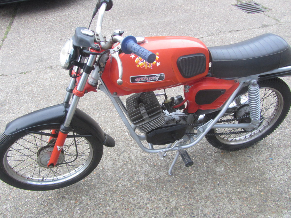 MALAGUTI 50cc 1970s ORIGINAL CONDITION MOPED For Sale (picture 3 of 6)