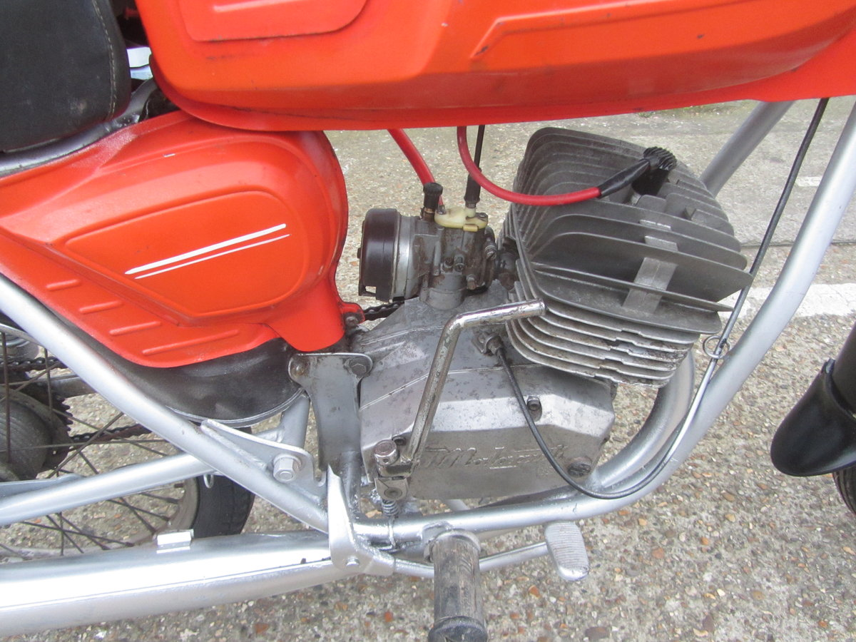 MALAGUTI 50cc 1970s ORIGINAL CONDITION MOPED For Sale (picture 4 of 6)