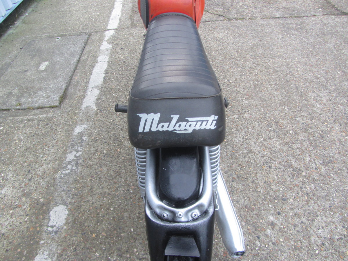 MALAGUTI 50cc 1970s ORIGINAL CONDITION MOPED For Sale (picture 6 of 6)