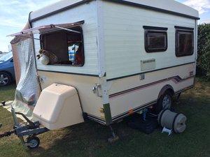 Folding caravan 3 berth 1984 For Sale