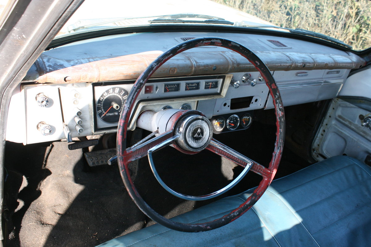 1963 DODGE DART STATION WAGON ESTATE RAT LOOK SOLD (picture 5 of 6)