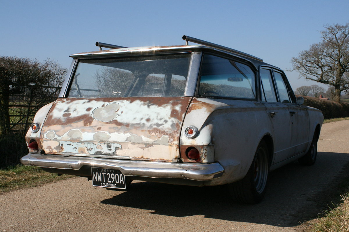 1963 DODGE DART STATION WAGON ESTATE RAT LOOK SOLD (picture 2 of 6)