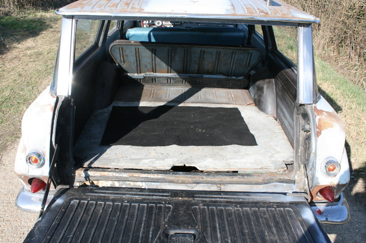 1963 DODGE DART STATION WAGON ESTATE RAT LOOK SOLD (picture 3 of 6)