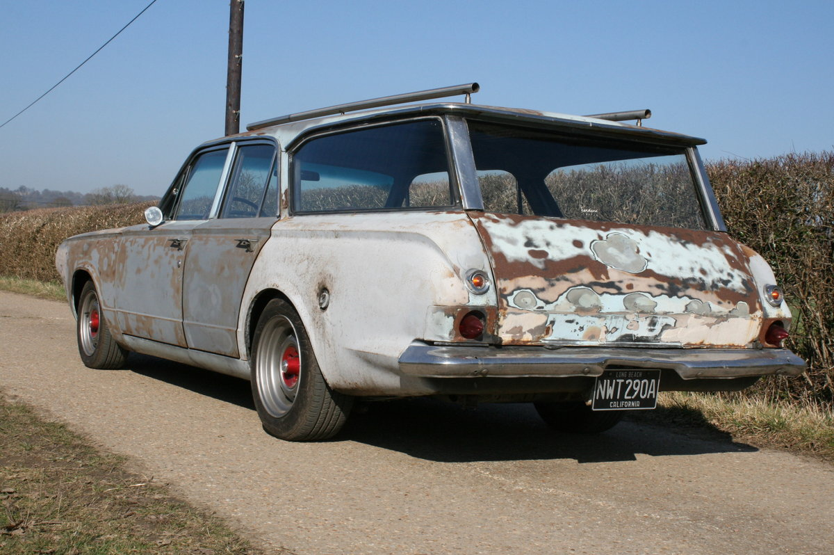 1963 DODGE DART STATION WAGON ESTATE RAT LOOK SOLD (picture 4 of 6)