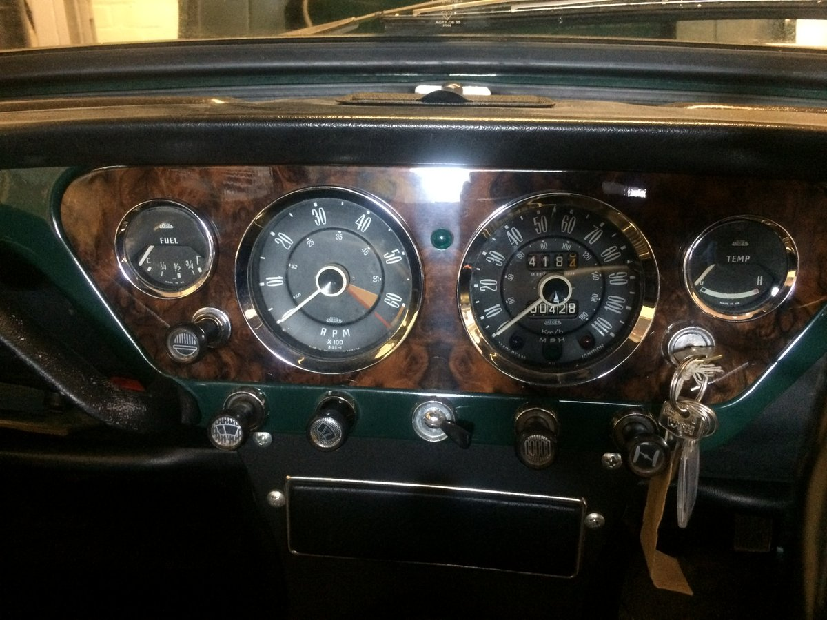Stunning 1965 Triumph Spitfire 4 Mk11 For Sale (picture 1 of 6)