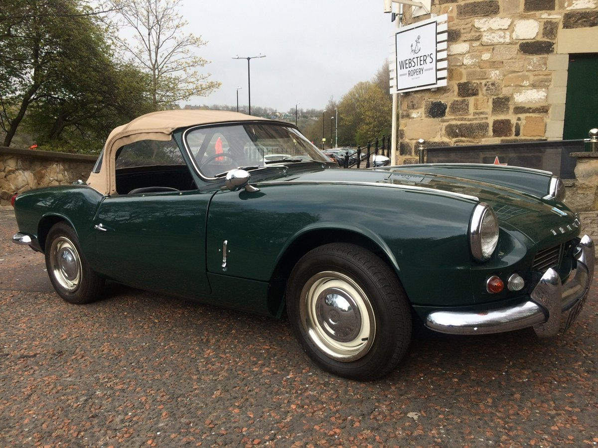 Stunning 1965 Triumph Spitfire 4 Mk11 For Sale (picture 2 of 6)
