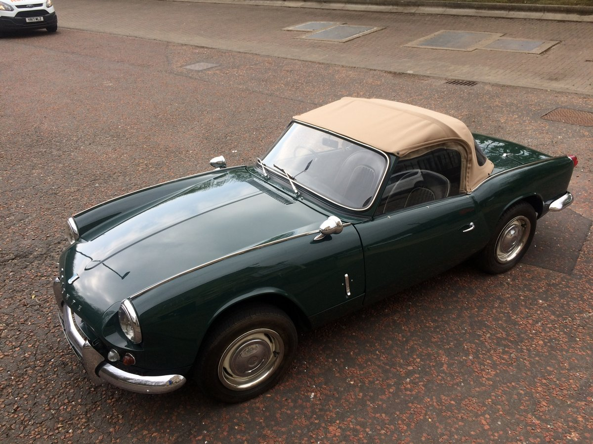 Stunning 1965 Triumph Spitfire 4 Mk11 For Sale (picture 3 of 6)