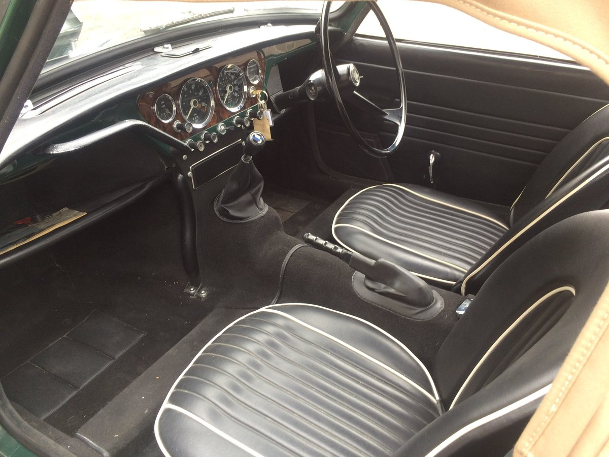 Stunning 1965 Triumph Spitfire 4 Mk11 For Sale (picture 5 of 6)