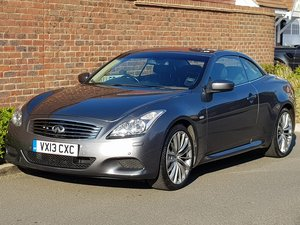 INFINTI G37 3.7 AUTO CONVERTIBLE - 2013/13  For Sale