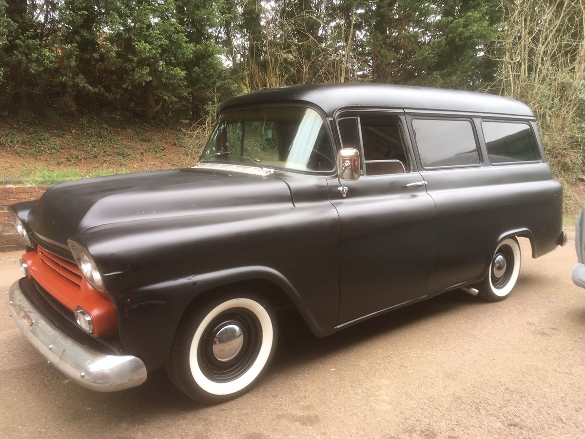1958 Chevrolet Suburban Clamshell SOLD (picture 1 of 6)