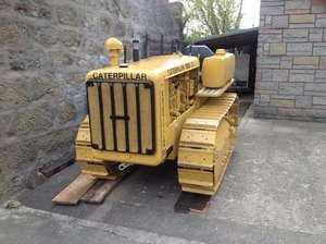 Caterpillar D2 Crawler Circa. 1941 at Morris Leslie 25th May For Sale by Auction