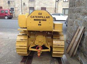 Caterpillar D2 Crawler Circa  1941 at Morris Leslie 25th May SOLD by