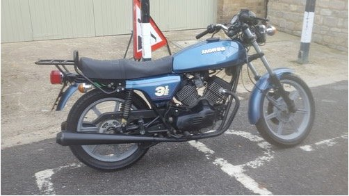 1983 Moto Morini Strada 350 V twin in VGC For Sale