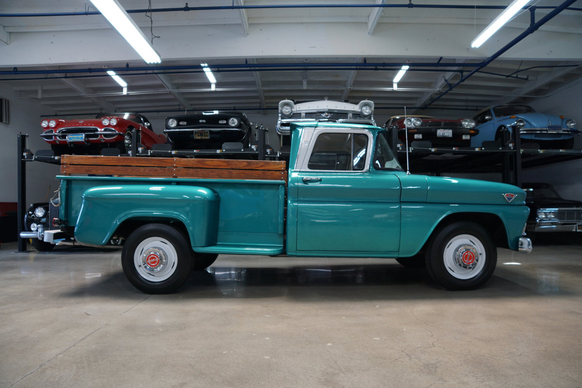 1963 GMC C1500 Full Size Stepside Pick Up SOLD (picture 3 of 6)