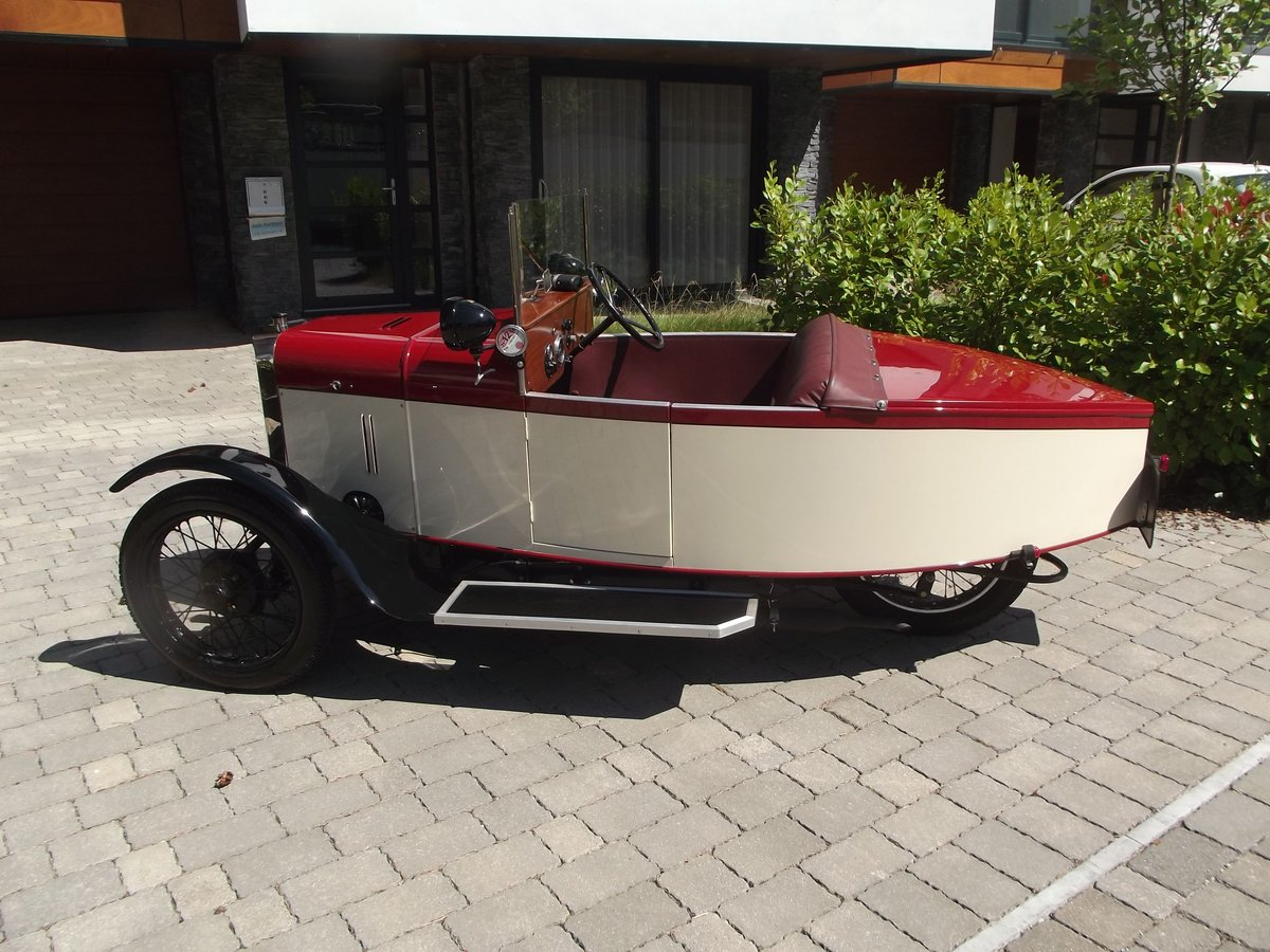 1949 MEB ROYAL RUBY 3 WHEELER TOURER BOAT TAIL EVOCATION SOLD (picture 1 of 6)