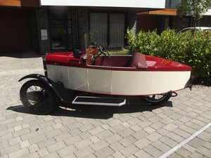 1949 MEB ROYAL RUBY 3 WHEELER TOURER BOAT TAIL EVOCATION SOLD