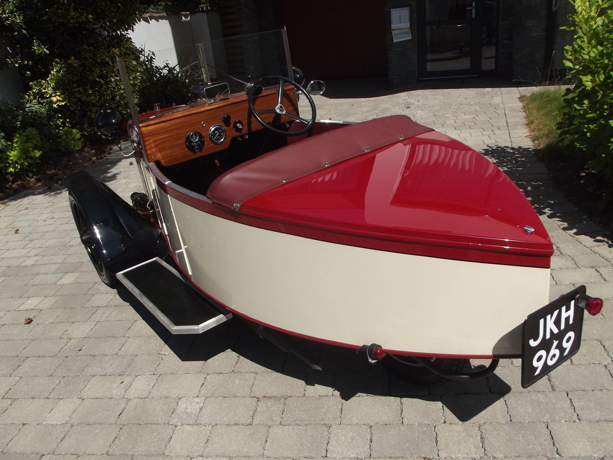 1949 MEB ROYAL RUBY 3 WHEELER TOURER BOAT TAIL EVOCATION SOLD (picture 2 of 6)