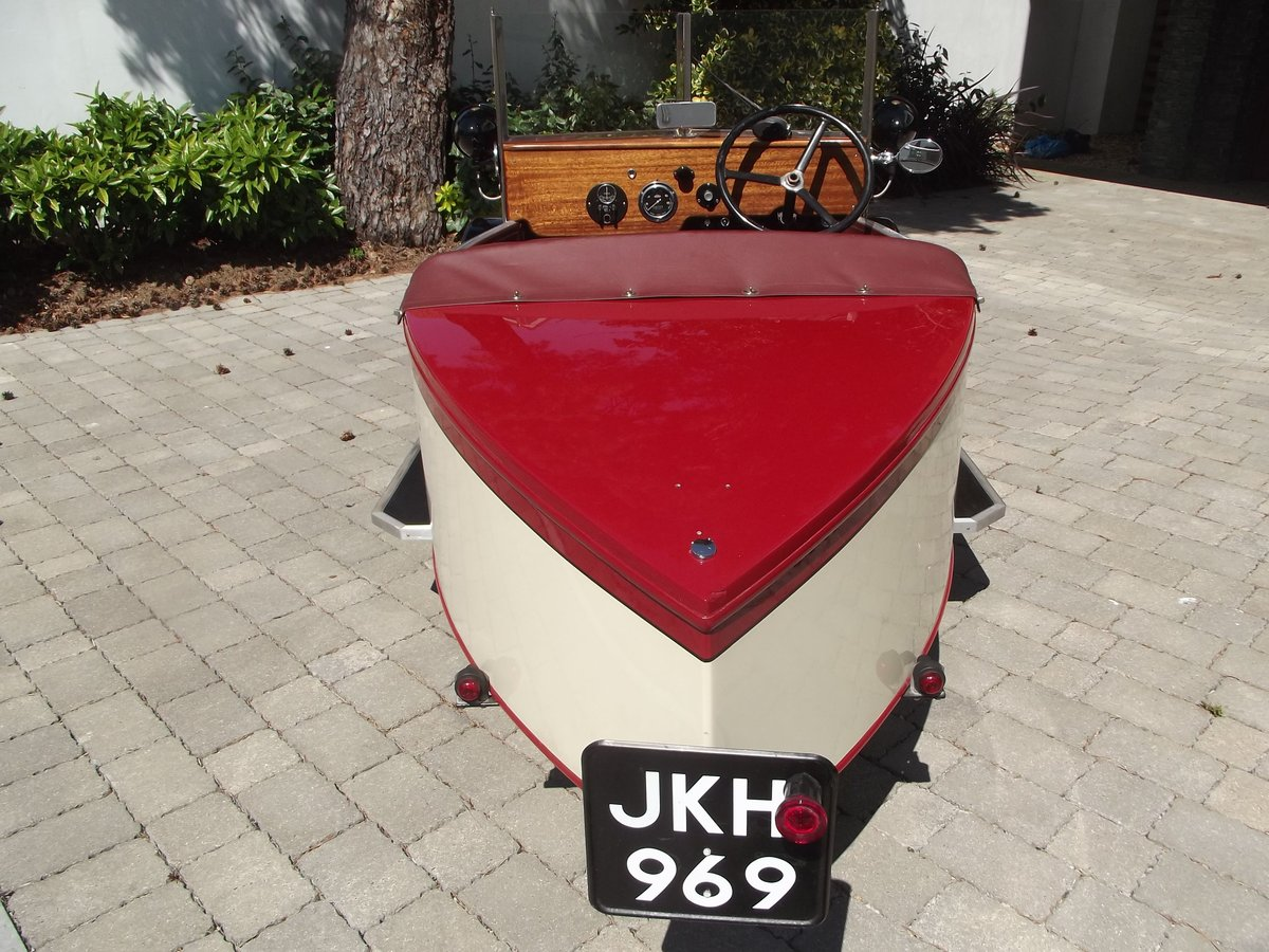 1949 MEB ROYAL RUBY 3 WHEELER TOURER BOAT TAIL EVOCATION SOLD (picture 4 of 6)