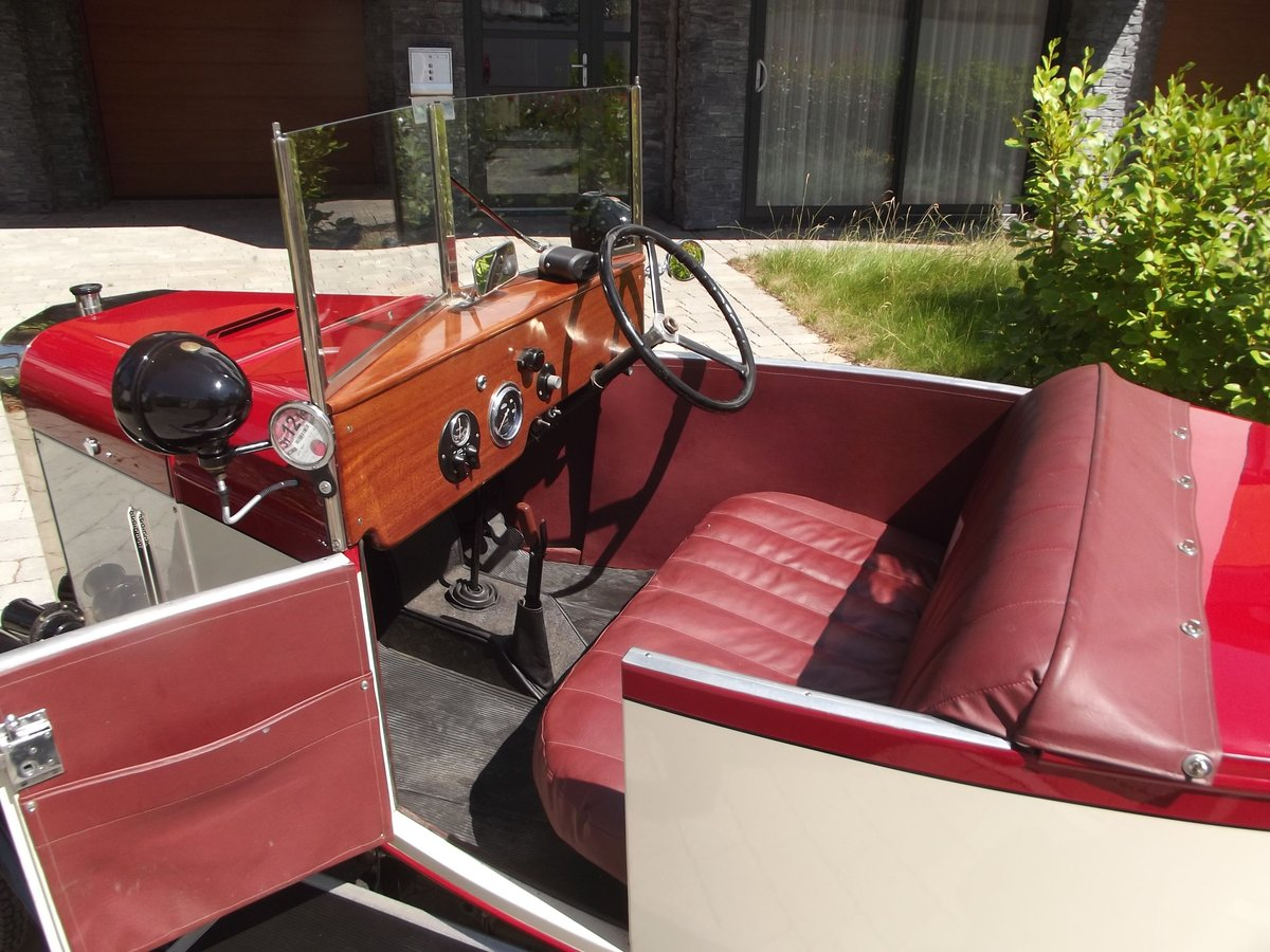 1949 MEB ROYAL RUBY 3 WHEELER TOURER BOAT TAIL EVOCATION SOLD (picture 5 of 6)