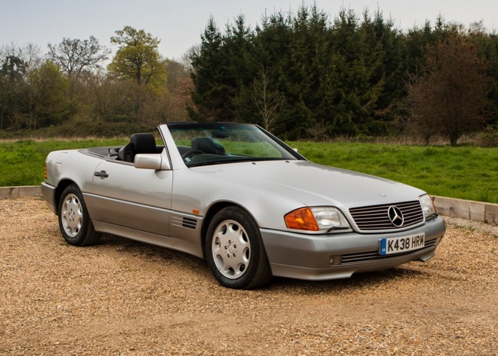 1993 Mercedes-Benz 500 SL Roadster For Sale by Auction (picture 1 of 6)