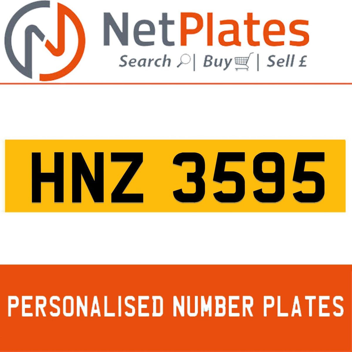 KIG 8432 PERSONALISED PRIVATE CHERISHED DVLA NUMBER PLATE For Sale (picture 1 of 5)