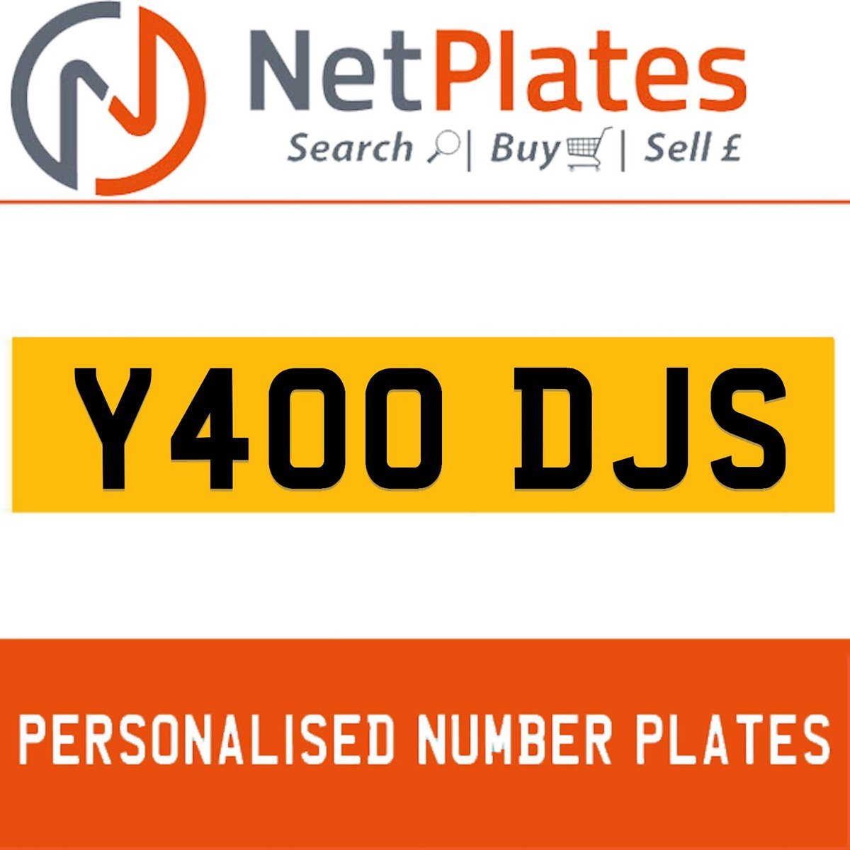 Y400 DJS PERSONALISED PRIVATE CHERISHED DVLA NUMBER PLATE For Sale (picture 1 of 5)