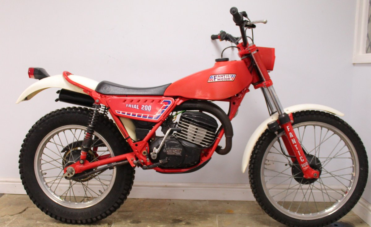 c1982 Fantic 200 cc Trials Bike Presented in excellent con SOLD (picture 1 of 6)