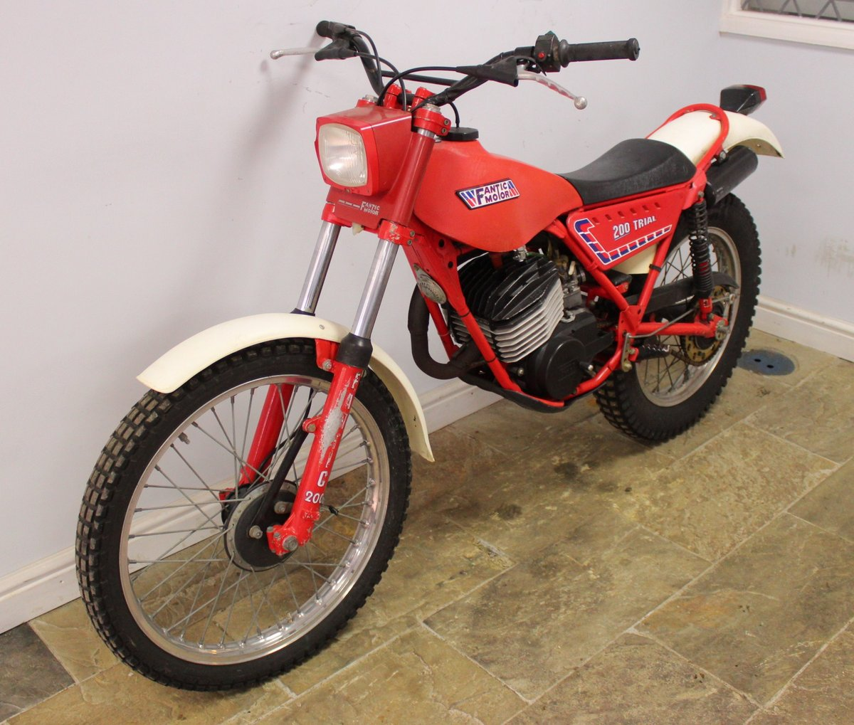 c1982 Fantic 200 cc Trials Bike Presented in excellent con SOLD (picture 6 of 6)