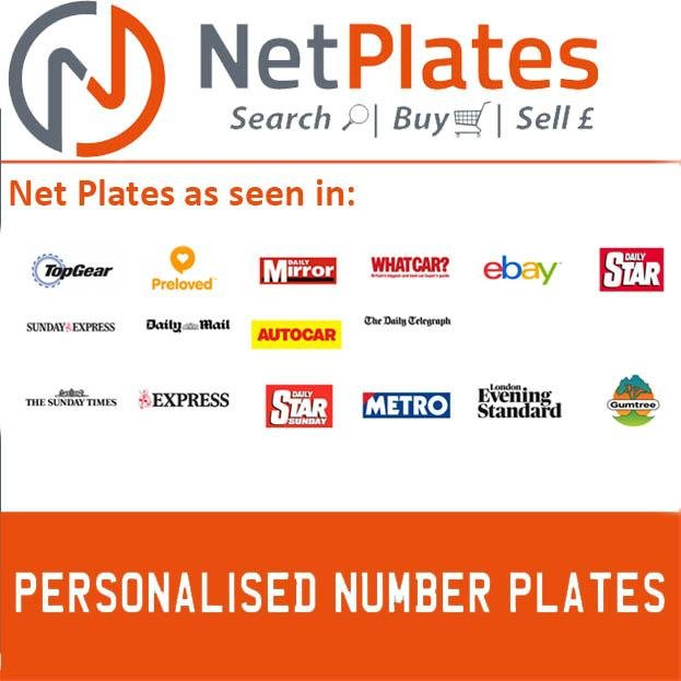 DAZ 8684 PERSONALISED PRIVATE CHERISHED DVLA NUMBER PLATE For Sale (picture 4 of 5)