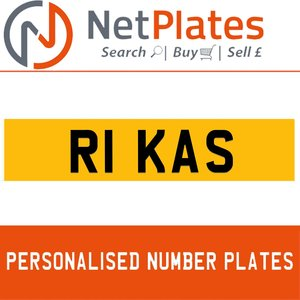 R1 KAS PERSONALISED PRIVATE CHERISHED DVLA NUMBER PLATE