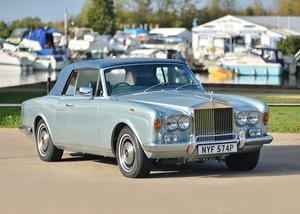 1976 Rolls-Royce Corniche 1A Convertible