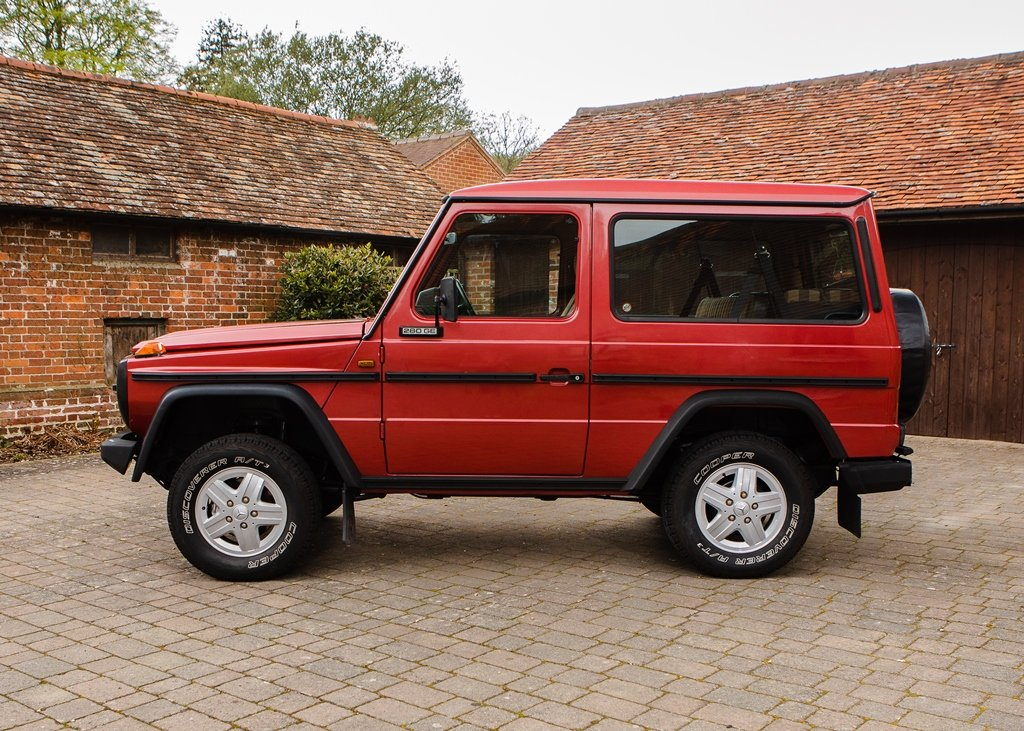 1990 Mercedes-Benz 280GE G-Wagon SOLD by Auction | Car And Classic