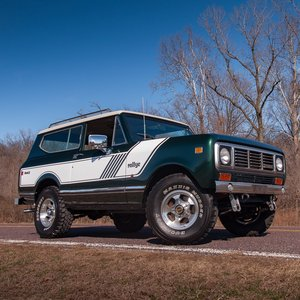 1976 International Harvester Scout II = Driver 27k miles $34 For Sale
