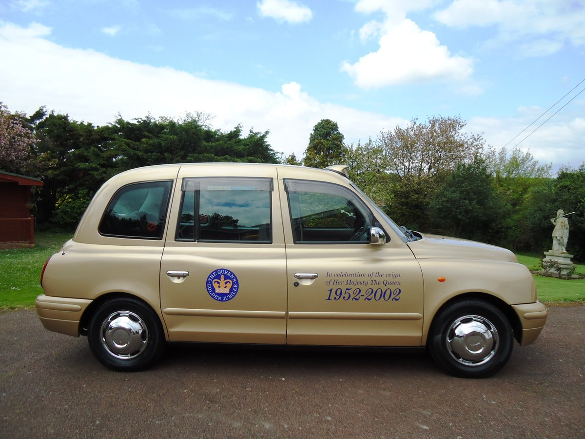 London Taxi 2002 Golden Jubilee Model For Sale (picture 2 of 6)