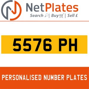 5576 MD PERSONALISED PRIVATE CHERISHED DVLA NUMBER PLATE For Sale