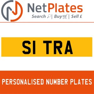 S1 TRA PERSONALISED PRIVATE CHERISHED DVLA NUMBER PLATE For Sale