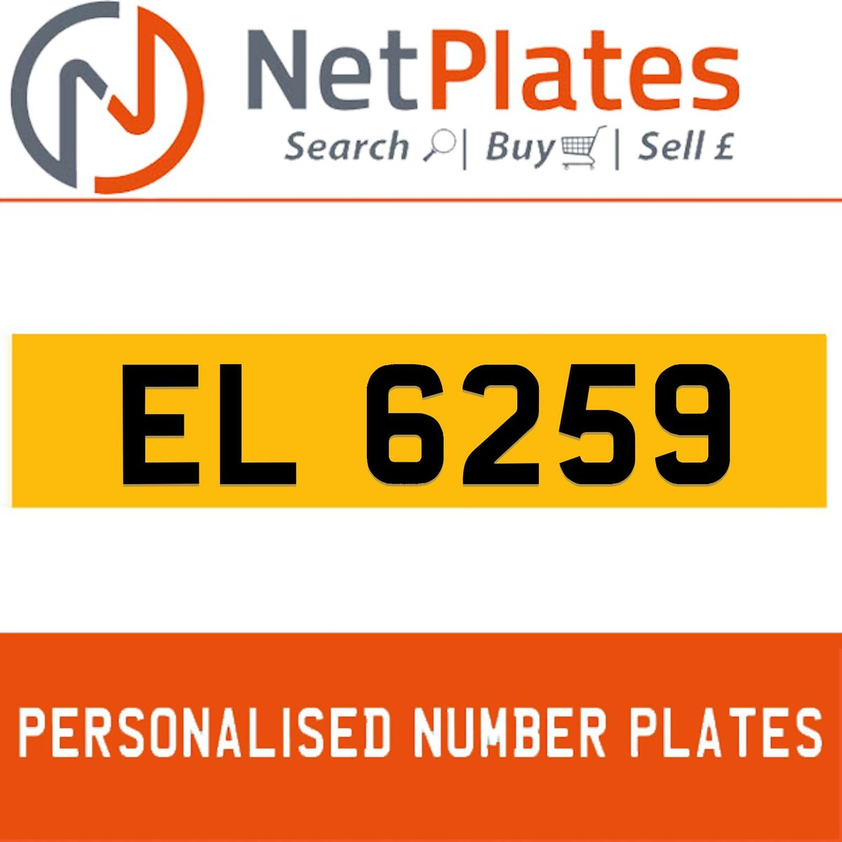 EL 659 PERSONALISED PRIVATE CHERISHED DVLA NUMBER PLATE For Sale (picture 1 of 5)