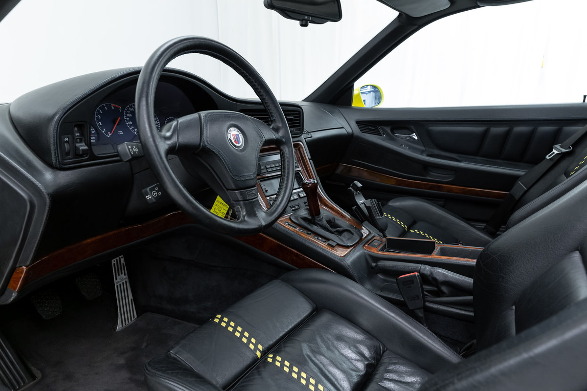 1995 Alpina E31 B12 5.7 (1/57 LHD german delivered) For Sale (picture 4 of 6)