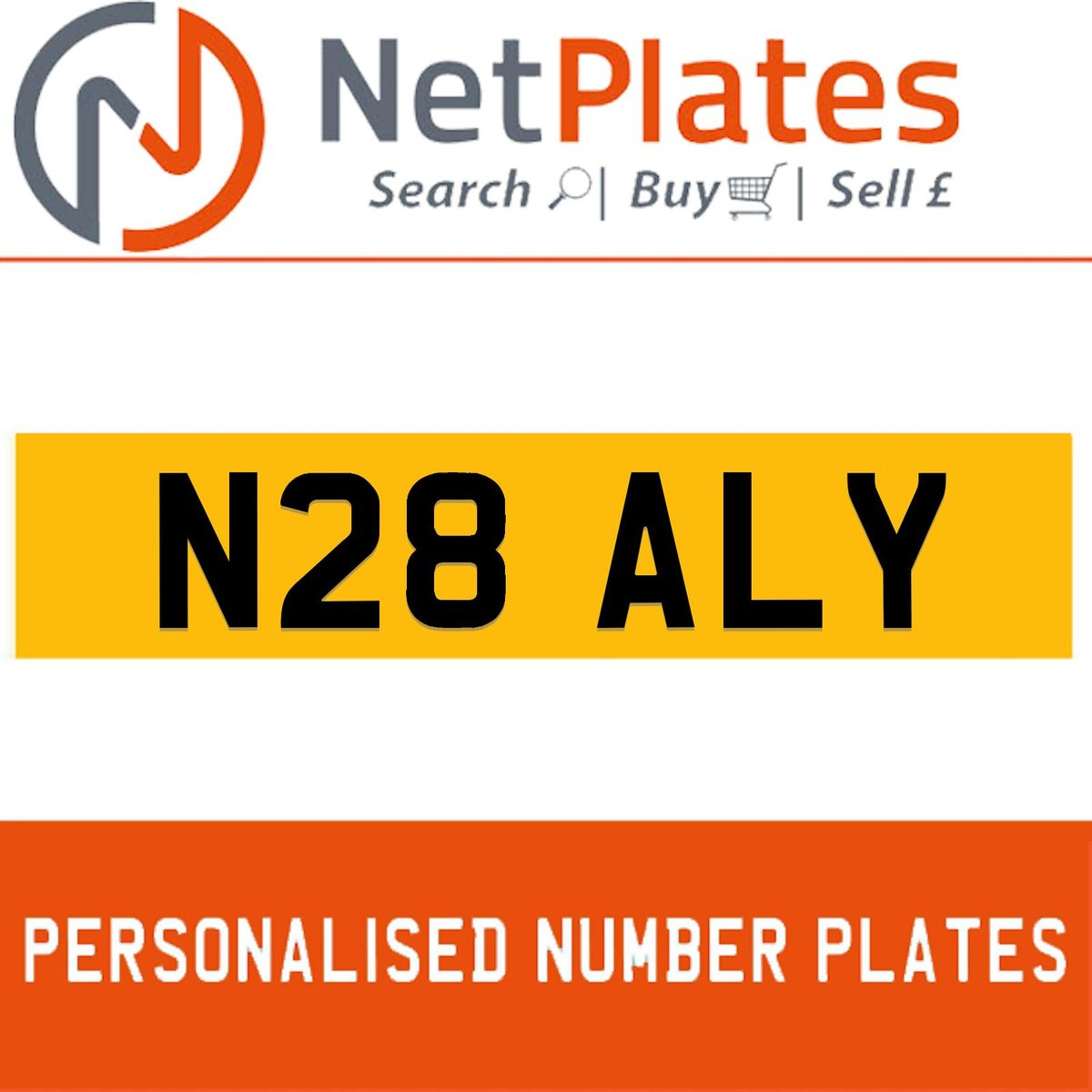 N28 ALY PERSONALISED PRIVATE CHERISHED DVLA NUMBER PLATE For Sale (picture 1 of 5)